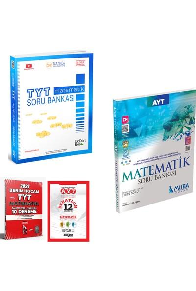 345 Yayınları TYT Matematik Soru Bankası Muba AYT Matematik Soru Bankası + Deneme