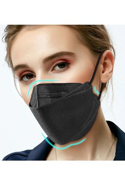 Coverplus Premium F95 Ffp2 Maske 10 Adet Kutulu - Siyah