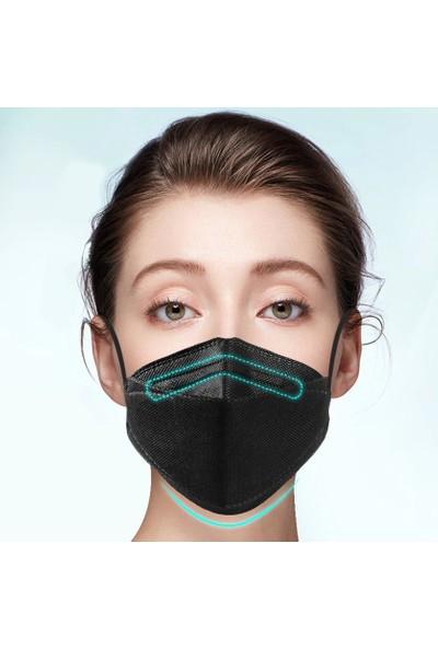 Coverplus Premium F95 Ffp2 Maske 20 Adet Kutulu - Siyah