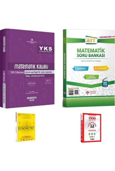 Matematik Kulübü TYT Kolay Matematik ve Sonuç AYT Matematik Soru Bankası + Deneme