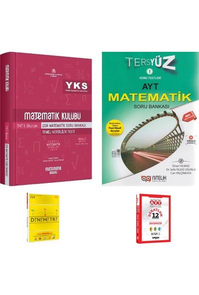 Matematik Kulübü TYT Zor Matematik ve Nitelik AYT Tersyüz Matematik Soru Bankası + Deneme
