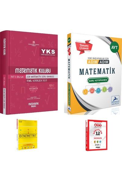 Matematik Kulübü TYT Zor Matematik ve Paraf AYT Adım Adım Mat. Çözümlü Soru Kütüphanesi + Deneme
