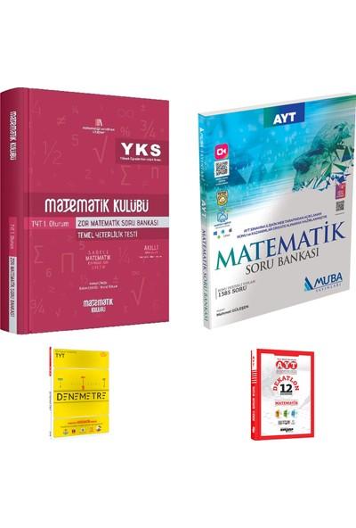 Matematik Kulübü TYT Zor Matematik ve Muba AYT Matematik Soru Bankası + Deneme