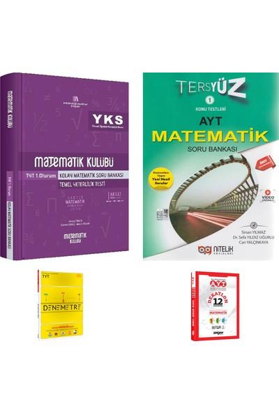 Matematik Kulübü TYT Kolay Matematik ve Nitelik AYT Tersyüz Matematik Soru Bankası + Deneme