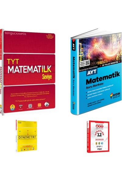 Tonguç TYT Matematilk Seviye Soru ve Aydın AYT Matematik Soru Bankası + Deneme