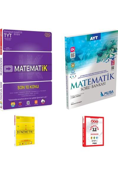 Tonguç TYT Matematik Son 10 Konu ve Muba AYT Matematik Soru Bankası + Deneme