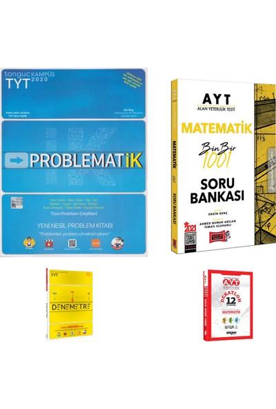 Tonguç TYT Matematik Problemler ve Yargı AYT Matematik 1001 Soru Bankası + Deneme