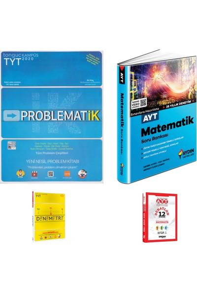 Tonguç TYT Matematik Problemler ve Aydın AYT Matematik Soru Bankası + Deneme