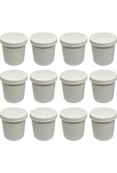 Suvar Kimya Pomat Kutusu Beyaz 100 gr 12 Adet