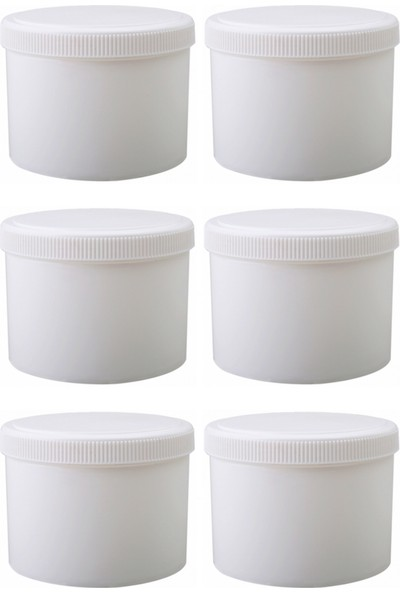 Suvar Kimya Pomat Kutusu Beyaz 250 gr 6 Adet