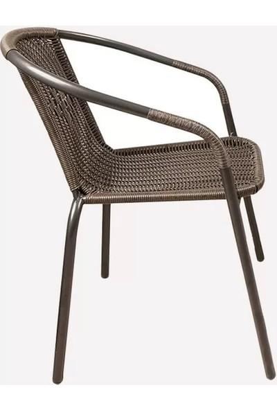 Evinizin Atölyesi Rattan Sandalye,bahçe Sandalyesi,balkon Sandalyesi,sandalye
