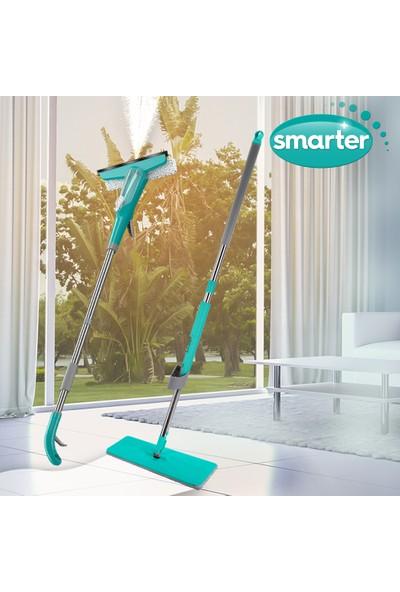 Smarter Glasy + Easy Süper 2'li Cam Sprey + Mop