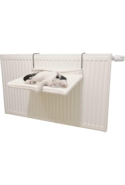 Markapet Kedi Radyatör Yatağı Yıkanabilir 42 cm 15 kg Beyaz