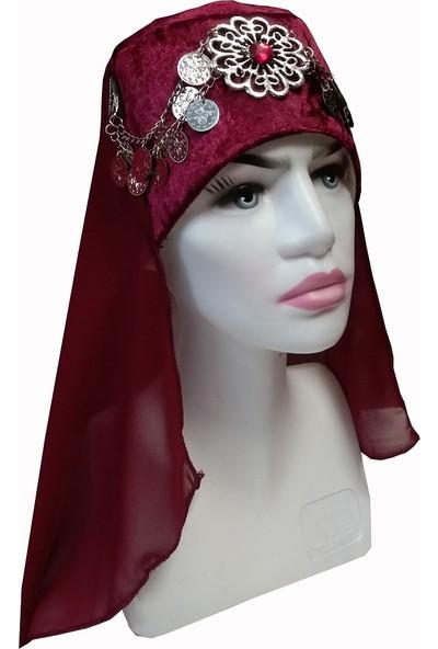 Dilek Kostüm Halime Sultan Başlığı Alp Şapkası Ertuğrul Osmanlı Başlıkları Okçu Kemankeş Kadın Şapkas Modelleri