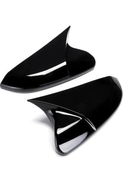 Leader Skoda Octavıa Mk3 Batman Ayna Kapağı 2013-2020 Parlak Siyah