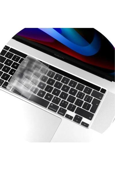 "Codegen Apple 13"" Macbook Pro Touch A1706 A1708 A1989 A2159 Eu Türkçe Silikon Klavye Koruyucu Cmpt-Mksc"