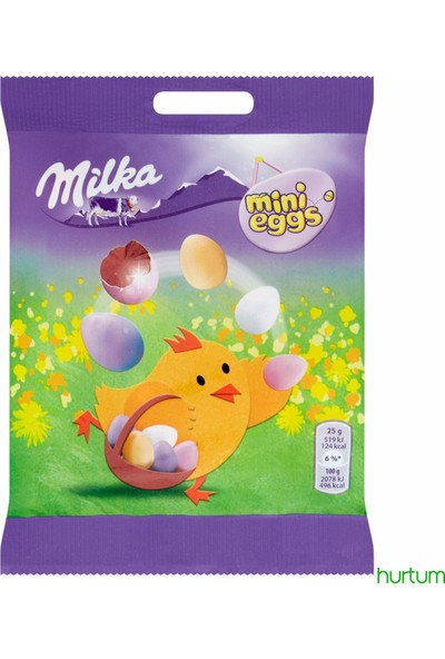 Milka Mini Eggs Mini Çikolatalar 100 gr