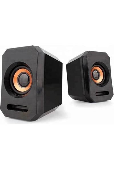 Azemax USB 2.0 Speaker 1+1 USB Hoparlör