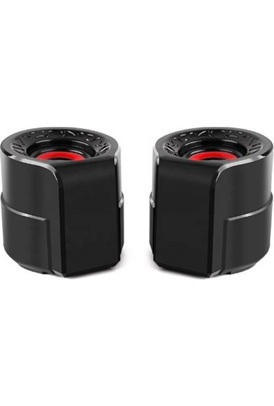 Azemax 1+1 USB 2.0 Hoparlör Taşınabilir USB Speaker