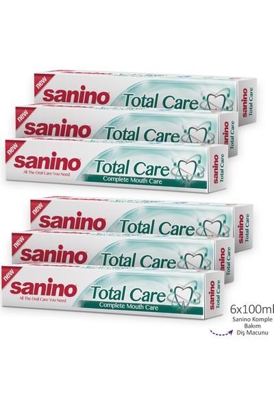 Sanino Komple Bakım Diş Macunu 6 x 100 ml