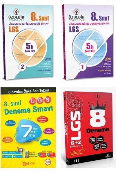 Kanıt Yayınları ve Özdebir Yayınları 8. Sınıf LGS Deneme Seti