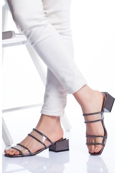 Ayakkabı Frekansı Lodi Topuklu Ayakkabı Platin