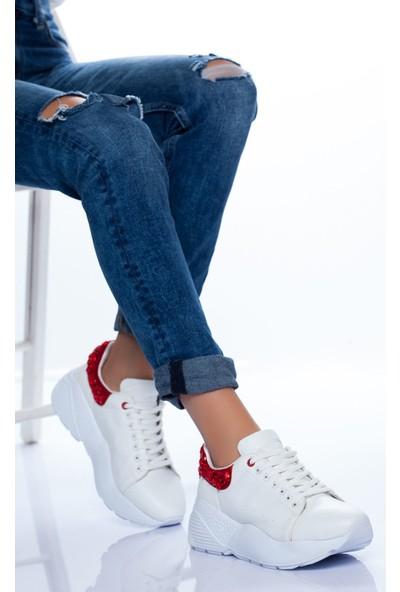 Ayakkabı Frekansı Sierra Spor Ayakkabı Beyaz