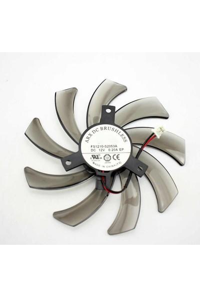 Everflow Gıgabyte GTX 750 Ti Kartı Fanı FS1210-S2053A 2pin 95 mm