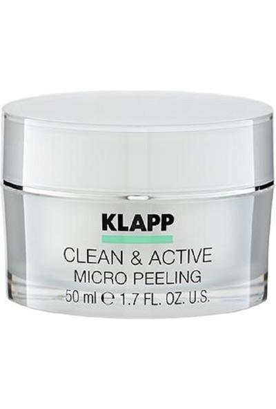 Klapp Clean & Active Micro Peeling 50 ml