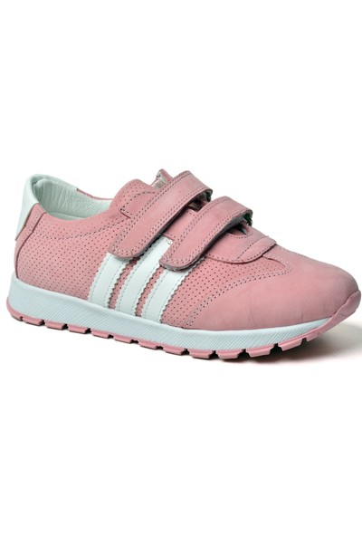 Happy Kids Kız Çocuk Spor Ayakkabı Hakiki Deri 600 (26-30 Numara Aralığı) Altın - 28