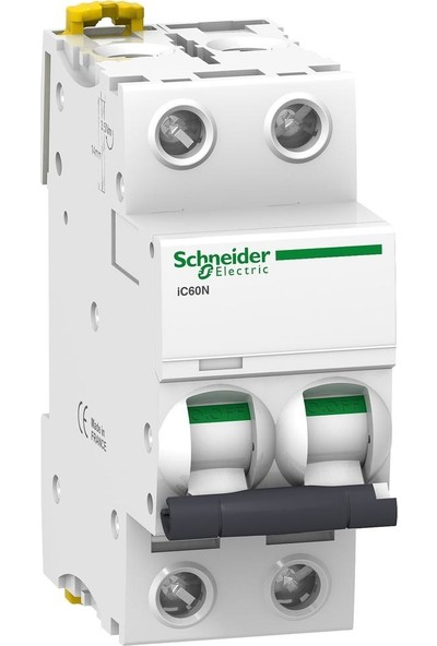 Schneider Electric 2X6A 6ka IC60N C Tipi Otomatik Sigorta