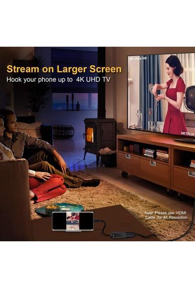 Choetech 4K 60Hz Type C To HDMI Çevirici Dönüştürücü Adaptör HUB-H04