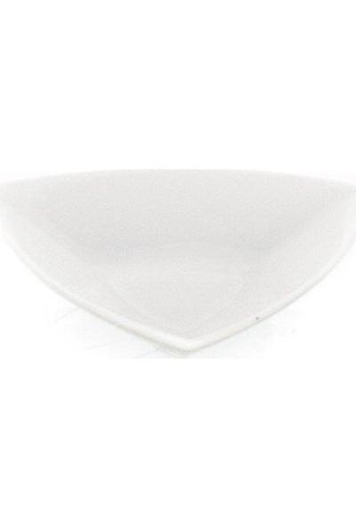 Ultraform Porselen Kase Üçgen 14 cm