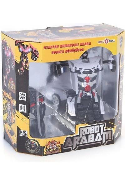 Toyshome Tiger Serisi Robota Dönüşen Uzaktan Kumandalı Araba 1/18 Full Fonksiyonlu Araba (EO-2027)