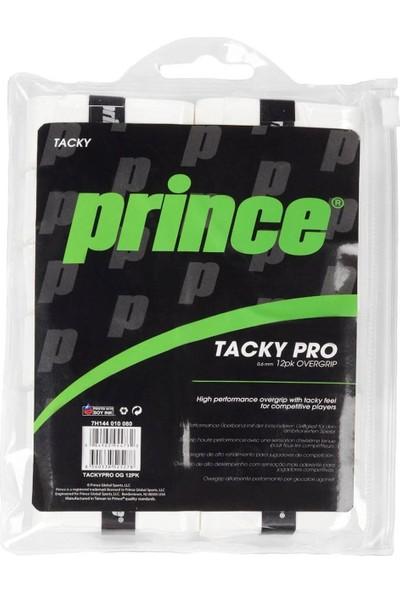 Prince Tacky Pro 12LI Overgrip Raket Gribi Beyaz