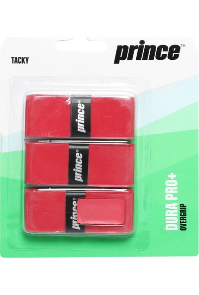 Prince Dura Pro Overgrip Raket Gribi Kırmızı 7H148080