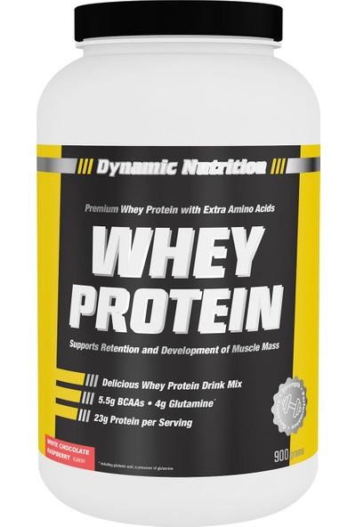 Dynamic Nutrition Dynamic Whey Protein Tozu 900 gr Beyaz Çikolata & Ahududu Aromalı