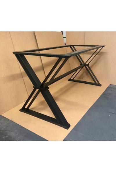 Abronya Masa Ayağı Çapraz Tasarım Masa Ayağı Metal Masa Ayağı Modelleri