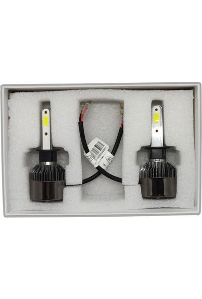 Tekstore Yeni Seri H1 LED Xenon, LED Far, 12000 Lümen 8000K