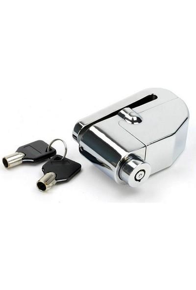 Vexo Sr7 Alarmlı Disk Kilit Gri