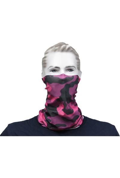 Vexo Buff (Bandana) Camouflage Pembe