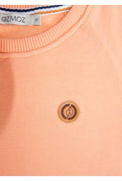 Ozmoz Kız Çocuk Turuncu Organik Sweatshirt