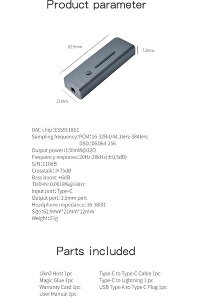 Xduoo Link2 Kulaklık Amplifikatörü