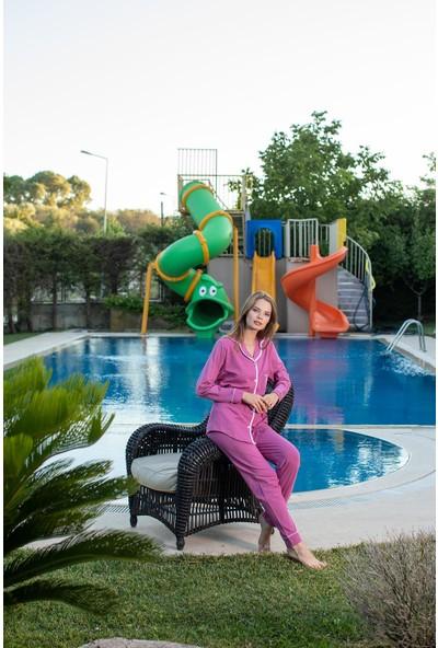 Teknur Kadın Pijama Takımı 62651