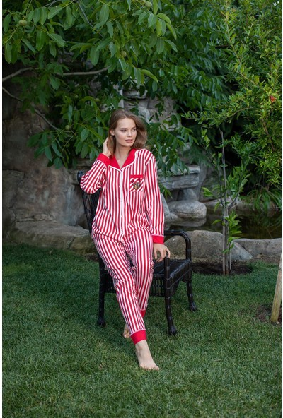 Teknur Kadın Pijama Takımı 62638