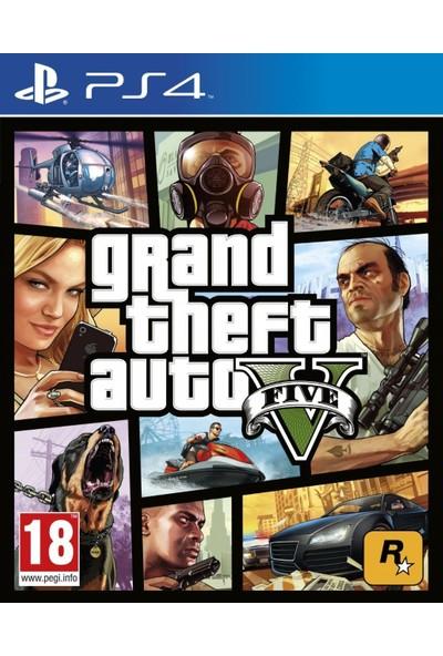 Kontorland AP7 Direksiyon Seti + GTA5 PS4 Oyun