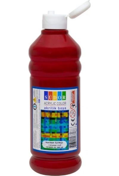 Südor Parmak Boyası 500 ml Karmen Kırmızı SD8009-05