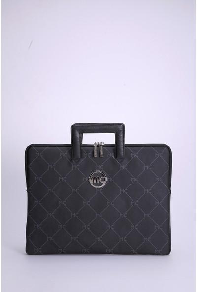 Marie Claire Siyah Kadın Laptop Tablet Çantası Alix MC212113240