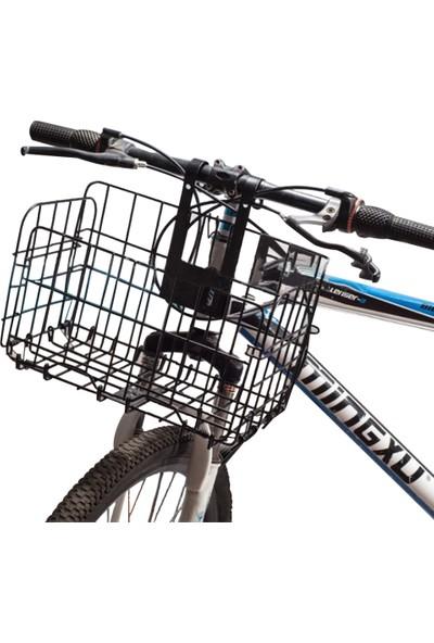 Lixada Katlanır Bisiklet Sepeti Pas Geçirmez Büyük Kapasiteli