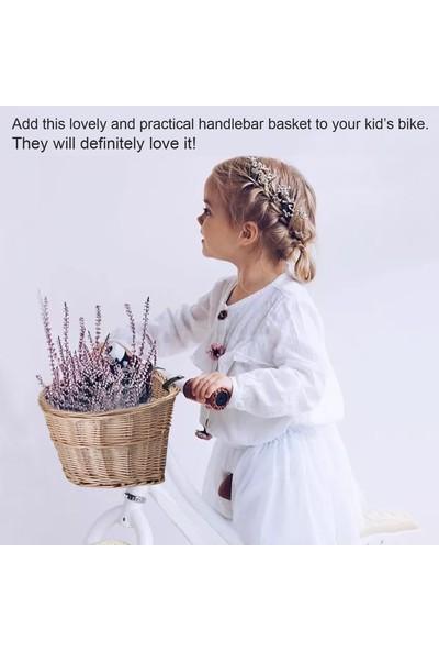 Buyfun Çocuklar İçin D-Şekilli Mini Gidon Sepeti Bisiklet